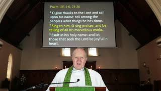 13th Sunday after Pentecost service 30 Aug 2020 at St. James' Anglican Church, Dandenong.
