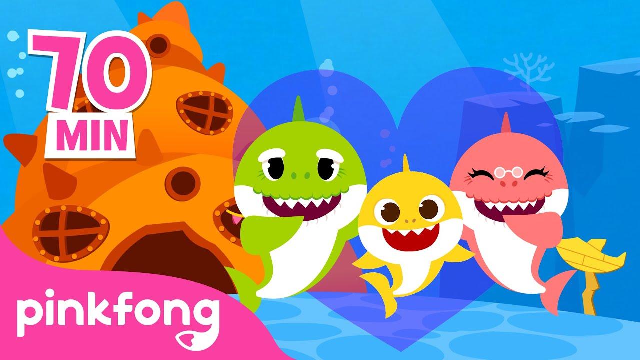 💛Dia dos Avós e mais músicas infantis | +Compilação | Pinkfong Canções para crianças