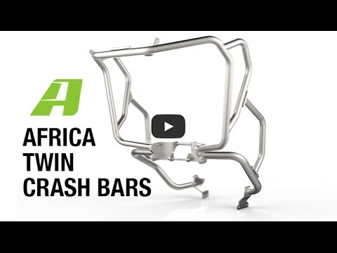 Thumbnail for Honda Africa Twin: AltRider Crash Bars, an Inside Look