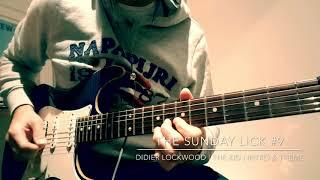 Great guitar licks #9 | Didier Lockwood | The Kid