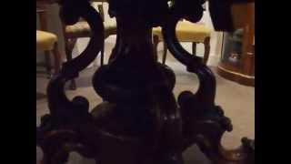 Victorian Walnut Dining Table