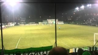 Bohemians 1905 - FC Fastav Zlín penalta na 2:1