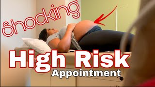 LIVE HIGH RISK OB APPOINTMENT| 8 MONTHS PREGNANT