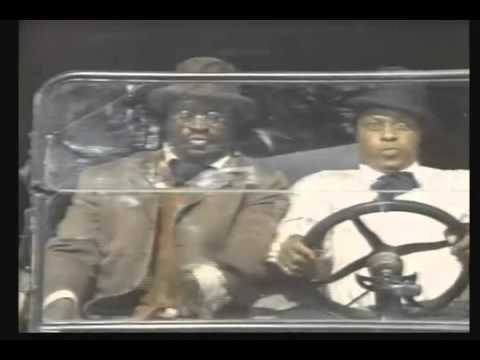 Leadbelly and Blind Lemon driving
