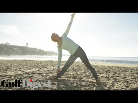 Back Exercises for Golfers with Natalie Gulbis | Golf Digest