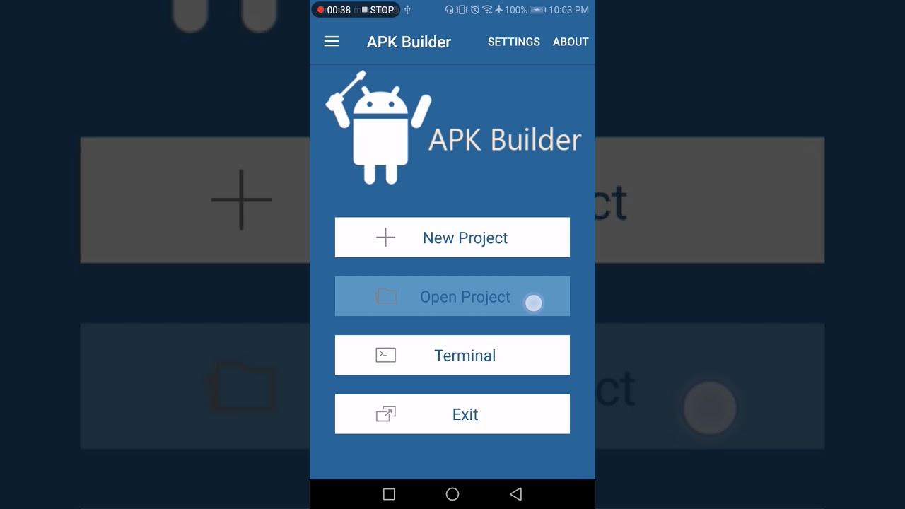 APK Builder: git clone