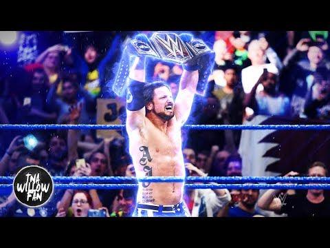 WWE AJ Styles 2nd Theme Song Phenomenal 20172018 ᴴᴰ  THEME