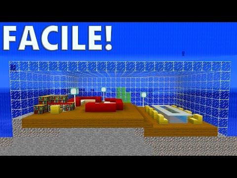 TUTO BUNKER SOUS MARIN ULTRA SÉCURISÉ ! | Minecraft