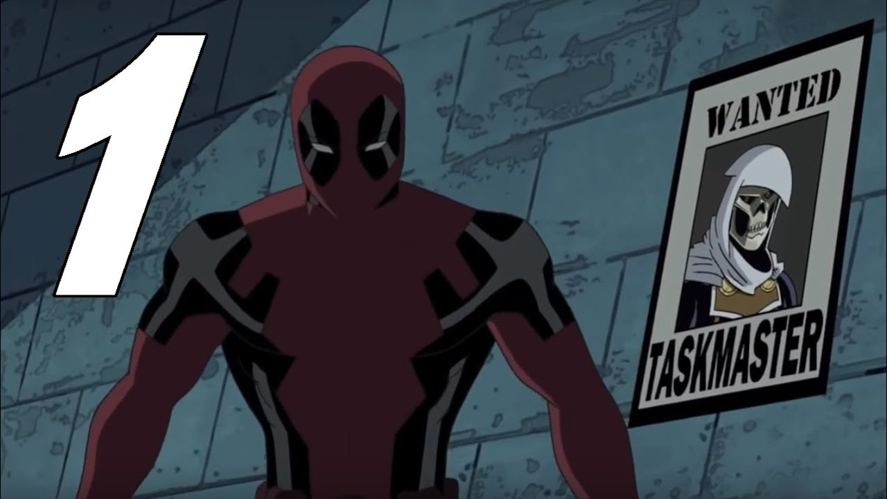 ultimate spiderman deadpool images galleries with a bite. Black Bedroom Furniture Sets. Home Design Ideas