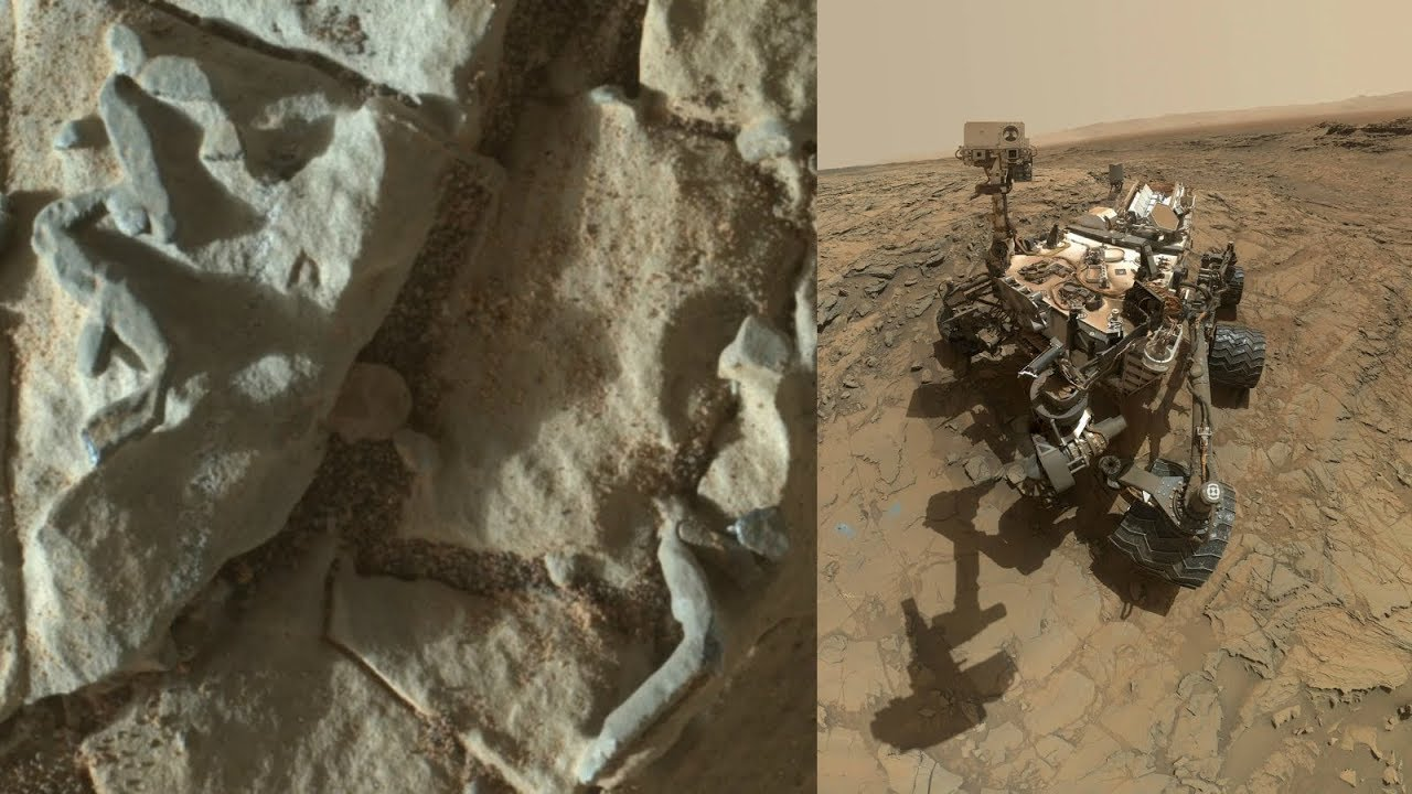 Risultati immagini per Nasa's Curiosity Rover Found Something Like Trace Fossils on Red Planet