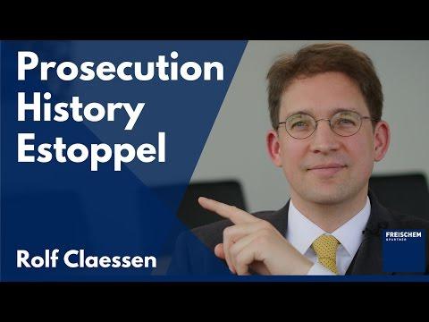 Patent Prosecution History Estoppel
