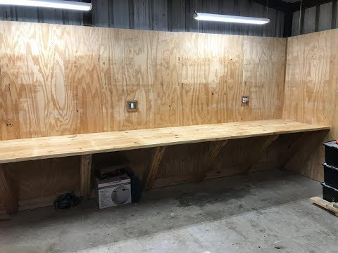Rugged workshop workbench. Built to build anything!