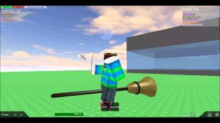 ROBLOX Magic Lessons - Broom Wand Control Glitch