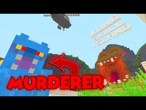 KONG MURDER MYSTERY [2] // TIME TO GO APE!! // MINECRAFT XBOX