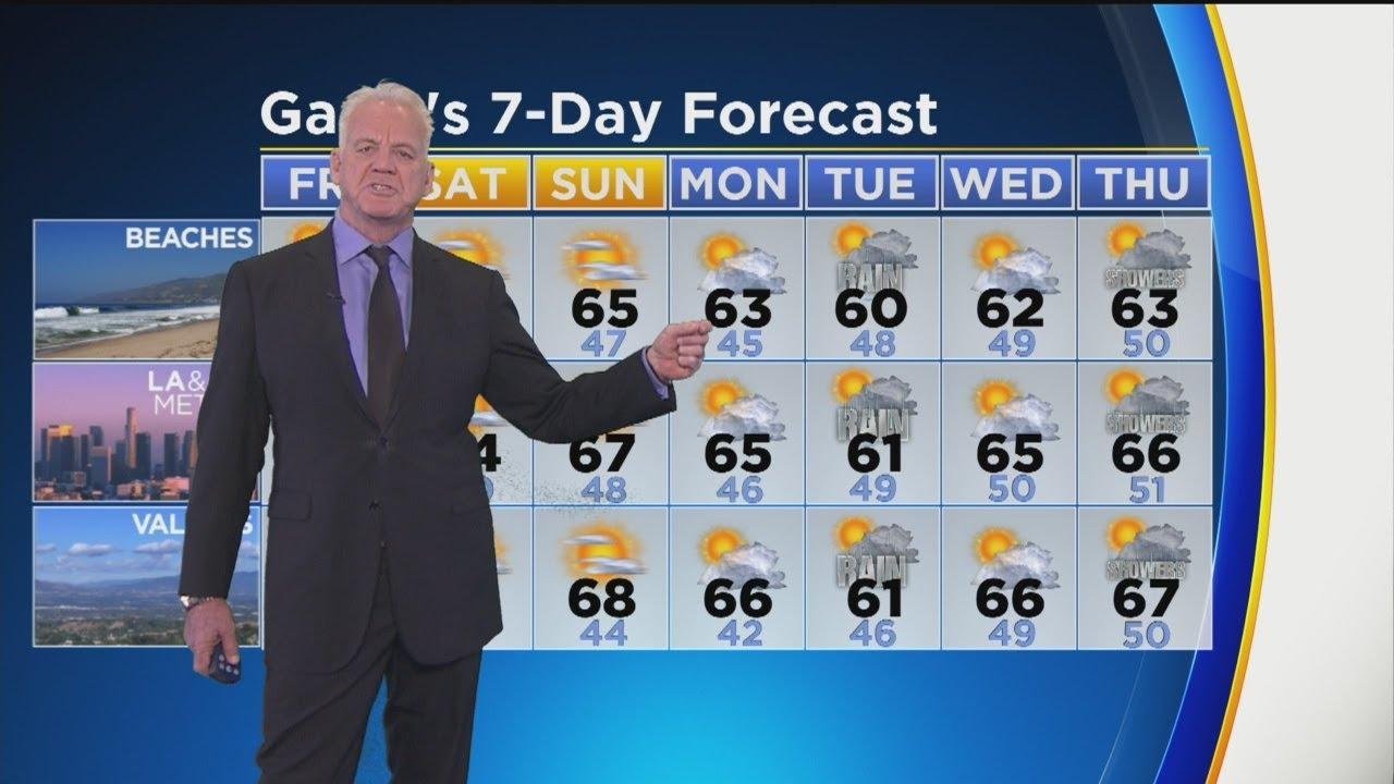 Garth Kemp's Weather Forecast (Feb. 22)