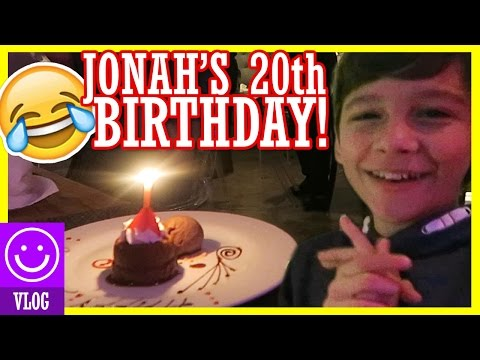 JONAH'S  20th BIRTHDAY!  Micah punches Paige in the face!  |  KITTIESMAMA
