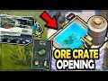 NEW ACID BATH + ORE CRATE OPENING (very rare) in Last Day on Earth Survival
