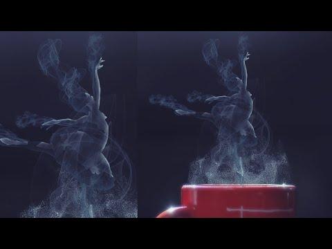 Smoke Dance Photoshop Effect Tutorial thumbnail