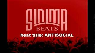 ANTISOCIAL (Tech N9ne Anthem style Midwest Beat) produced by Sinima Beats