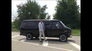 тест драйв Chevrolet VAN G20