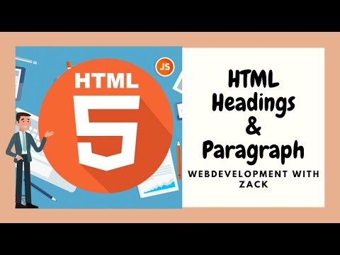 Learning About HTML Headings And Paragraph
