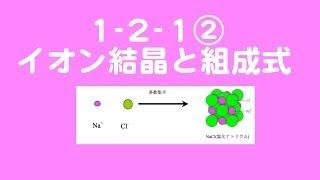 1 _2_1③イオン結晶と組成式 (化学基礎)