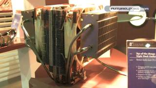 COMPUTEX 2011 - Noctua Shows Off New CPU Cooler Prototypes and Focused Flow Fan