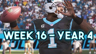 Madden 15 Panthers Connected Franchise - Week 16 vs Falcons - Season 4