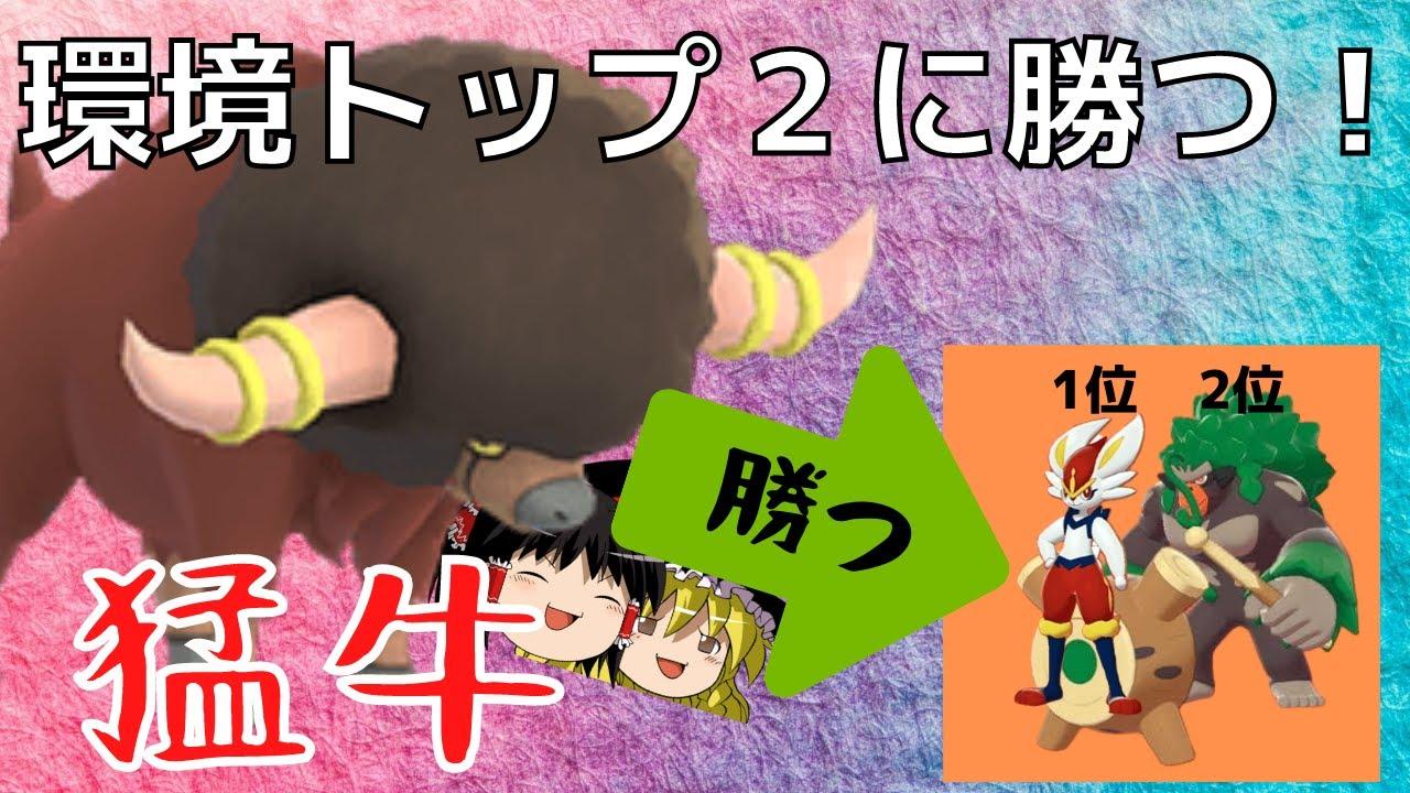 ポケモン剣盾 環境トップ