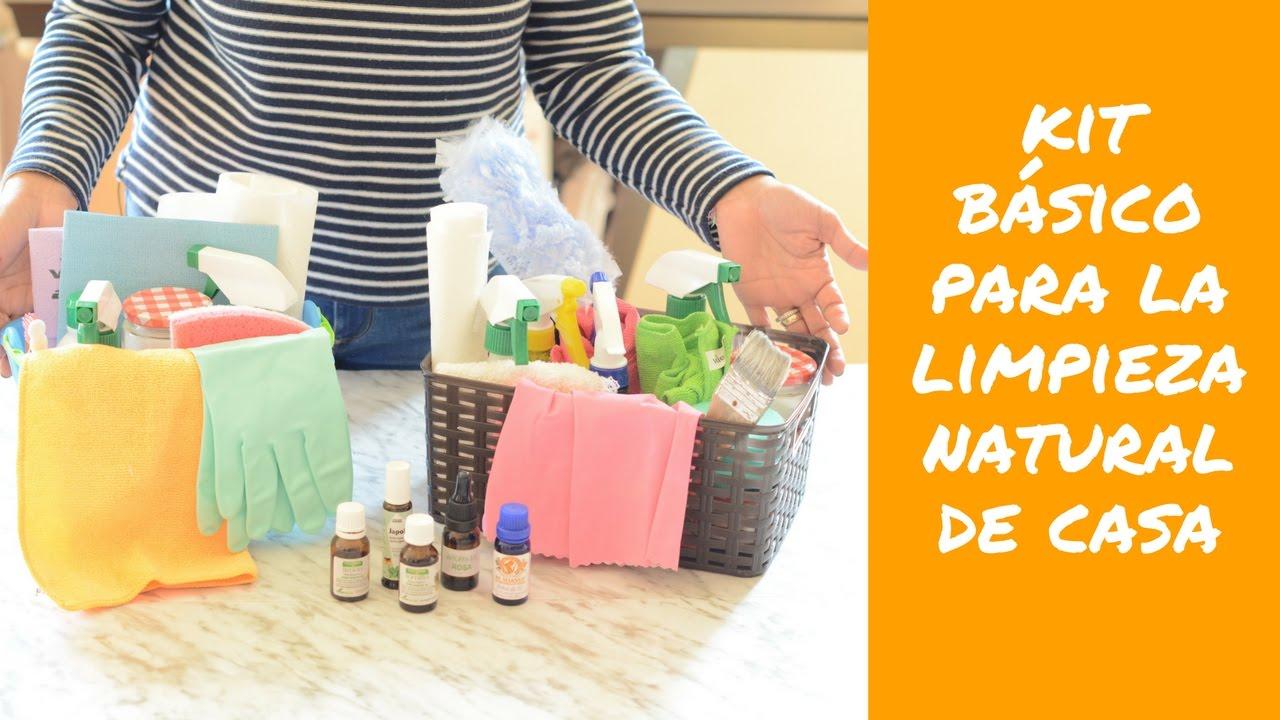 Prepara tu kit para la limpieza natural de casa youtube - Limpieza en casa ...