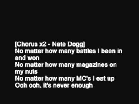 Eminem Never Enough [HD Lyrics]