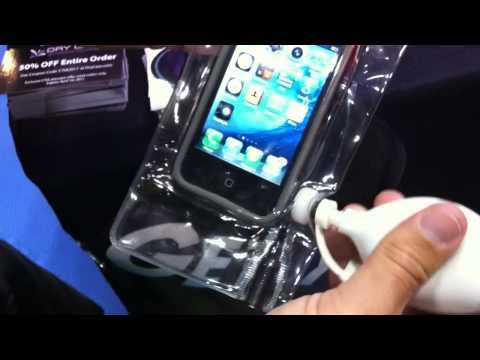 Dry Case Waterproof Vacuum Seal Demonstration