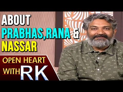 Director SS Rajamouli About Prabhas, Rana And Nassar | Open Heart With RK | ABN Telugu