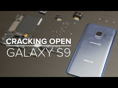 Cracking Open the Samsung Galaxy S9: Teardown