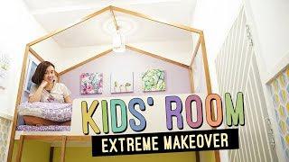Kids' Room Makeover Extreme Transformation // Pastel Shared Bedroom // by Elle Uy