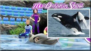 Развивающий мультик игра про дельфина [1] Факты о дельфинах для детей