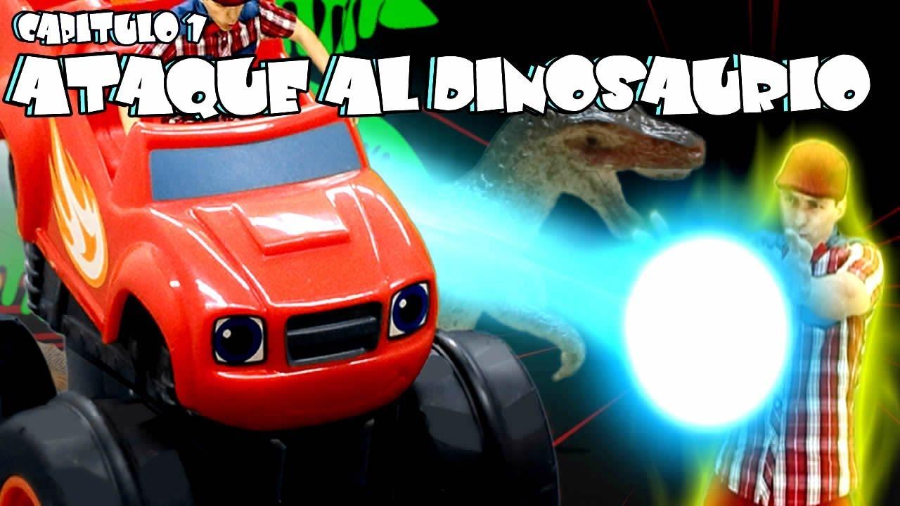 Y De Al Monster Capitulo En Español Dinosaurio Los Blaze Juguetes 1Ataque Historia Machines w08XPkNnO