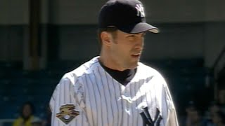 Mike Mussina's scoreless Yankees debut in '01