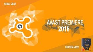 Serial Para Avast! hasta el 2038   Avast! Premiere 2016 Licencia hasta 2022 .Funciona 100%