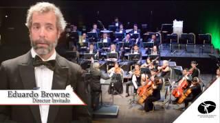 Entretelones del 1er Concierto de la Orquesta Sinfónica