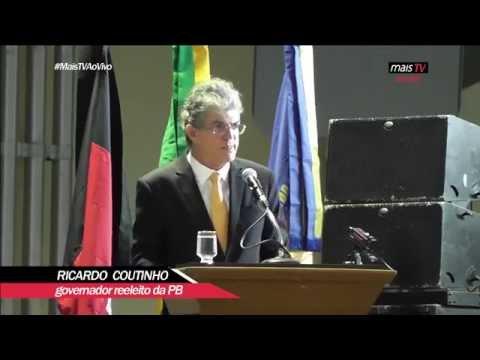 Posse do Governador Ricardo Coutinho - 01/01/2015