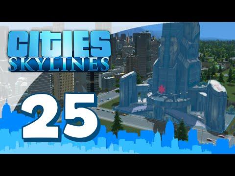 Cities Skylines Modded #25 - HEALTH MONUMENT (Walkthrough Gameplay w/Seniac)