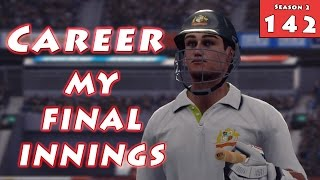One last run (season final) - season 2 don bradman cricket 14 career mode #142