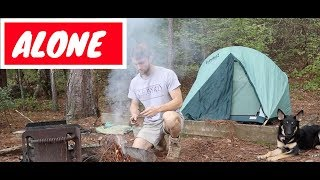 Solo Camping | Lake Claiborne, LA | VLOG #22 pt.1