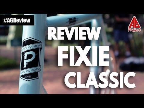 Auto Ganteng Review Sepeda Fixie Klasik Agreview Youtube