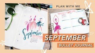 September 2019 BUJO SETUP | Shadow Dancers | Plan With Me