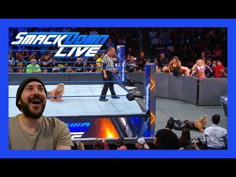 REACTION: Charlotte Flair Vs Natalya (WWE Smackdown Live Women