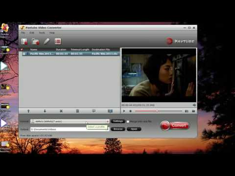 Convert MP4 For Playing On Windows Media Player.