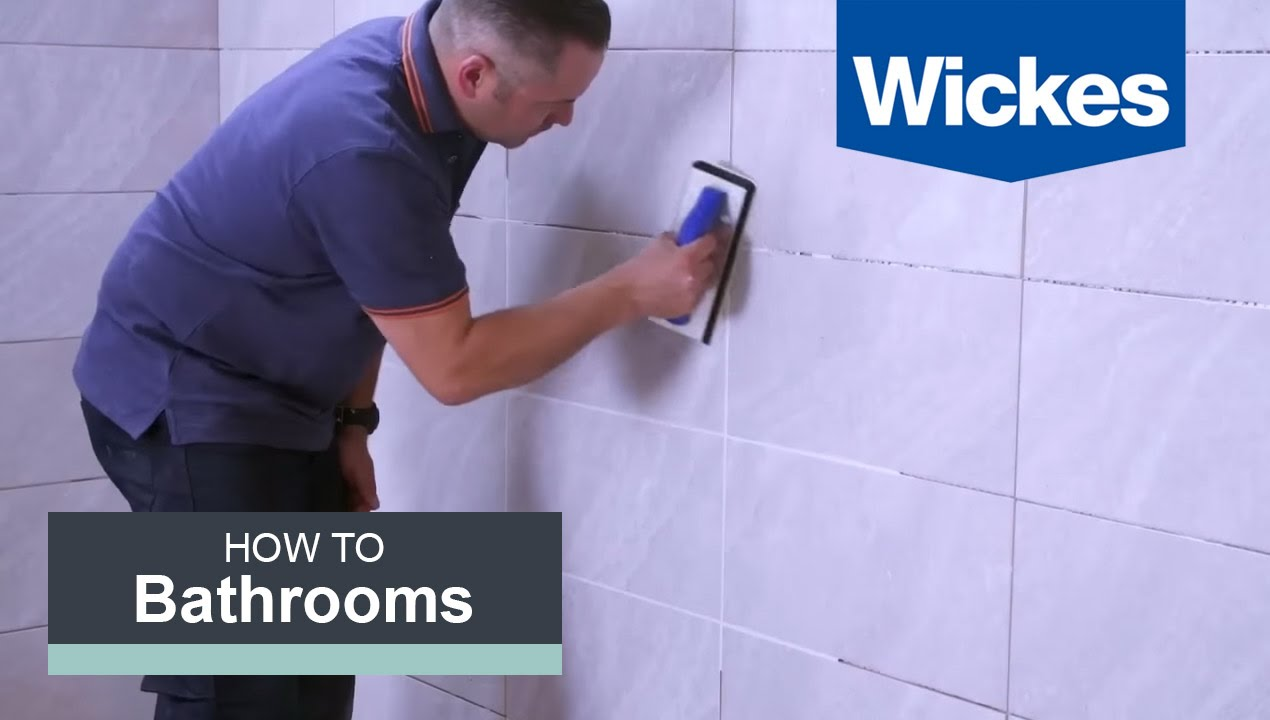 How to Grout Tiles with Wickes - YouTube