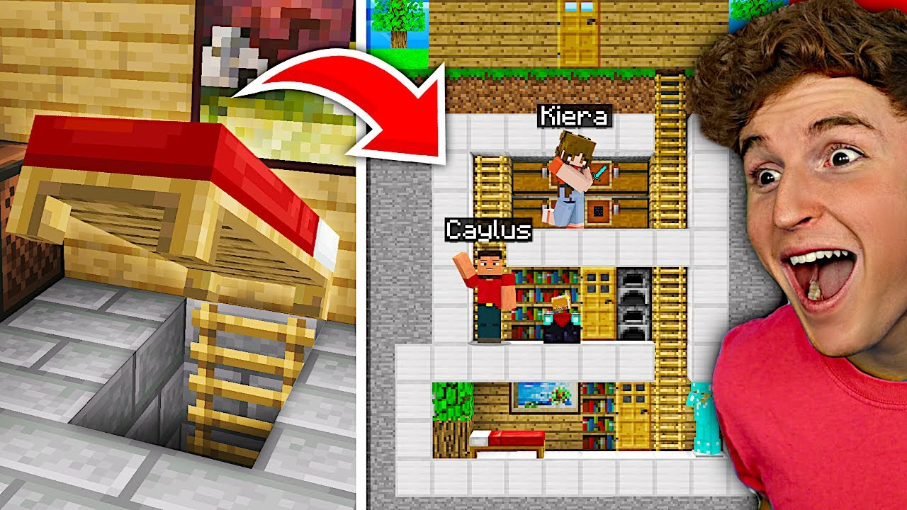 If You FIND The SECRET BASE In Minecraft, You WIN MONEY!